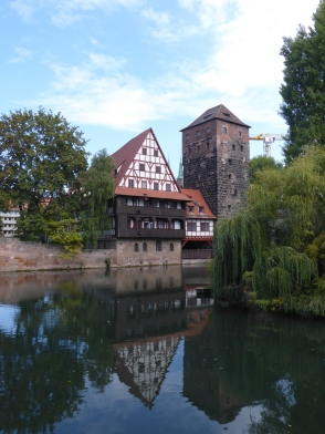 Part of the walking route I recommend around the area of Karlsbrucke